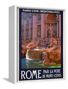 Trevi Fountain, Roma Italy 4 by Anna Siena