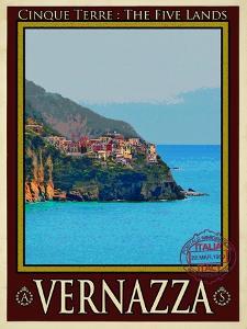 Vernazza Italian Riviera 2 by Anna Siena
