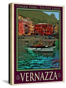Vernazza Italian Riviera 4 by Anna Siena