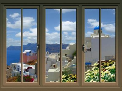 View from the Window at Mykonos Island 4 by Anna Siena