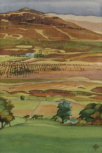 Across the Glen, Dervaig, Isle of Mull by Anna Teasdale