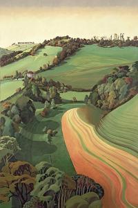 Chilcombe Bottom, Bath by Anna Teasdale