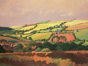 From the Train, South Devon, No.1 by Anna Teasdale