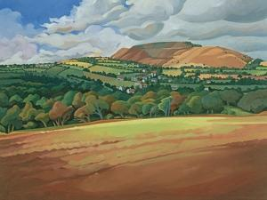 From the Train South Devon, No.2 by Anna Teasdale