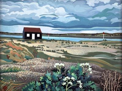 Hut, Rye Harbour by Anna Teasdale
