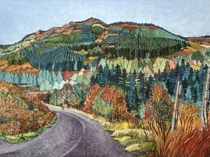 Road to Torloisk, 2008 by Anna Teasdale