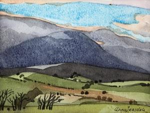 Snowdonia, 1908 by Anna Teasdale