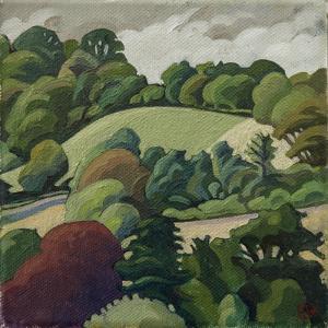 The Hill, Batheaston by Anna Teasdale