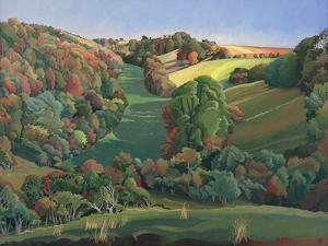 The Long Field, Yatton Keynell by Anna Teasdale
