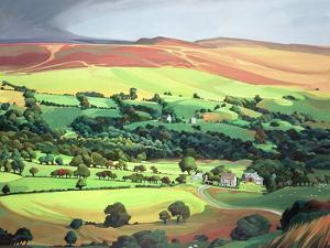 Welsh Valley by Anna Teasdale