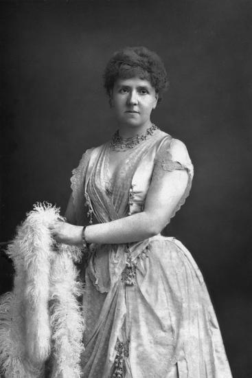 Anna Williams, Singer, 1890-W&d Downey-Photographic Print