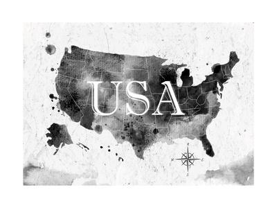 Ink United States Map