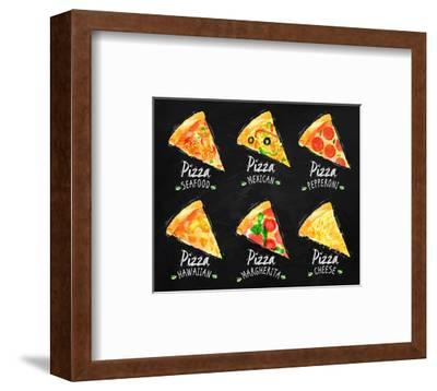 Pizza Chalk Set