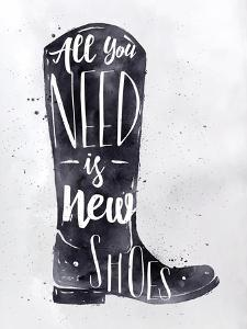 Poster Boots by anna42f