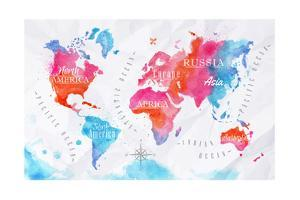 Beautiful World Maps artwork for sale, Posters and Prints | Art.com