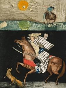 The Rider - after Akutagawa Ryunosuke, 1987 by Annael Anelia Pavlova