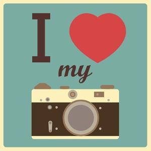 I Love My Camera by AnnaKukhmar