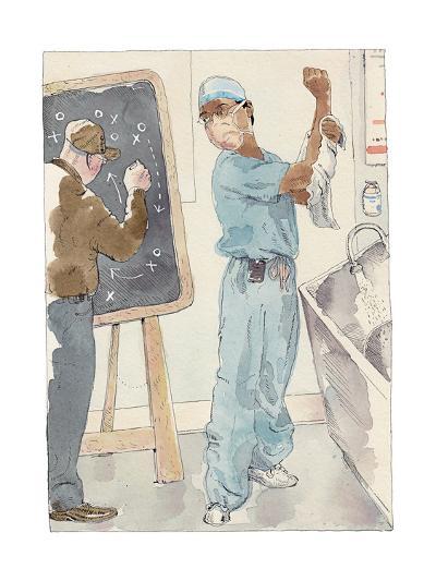 Annals of Medicine - New Yorker Cartoon-Barry Blitt-Premium Giclee Print