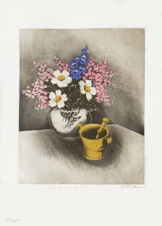 Bouquet Au Delphinium by Annapia Antonini