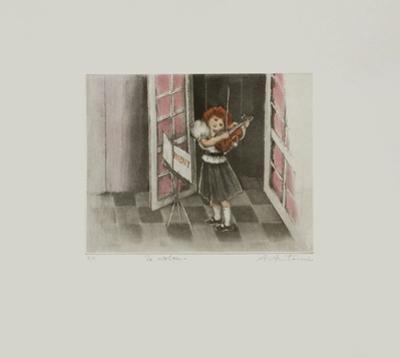 Le Violon by Annapia Antonini