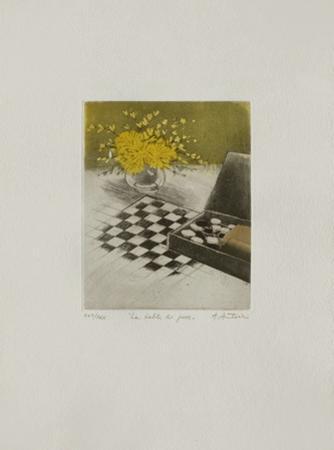 Tables : La Table De Jeux by Annapia Antonini