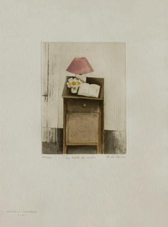 Tables : La Table De Nuit by Annapia Antonini