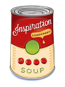 Can of Condensed Tomato Soup Inspiration by AnnaRassadnikova