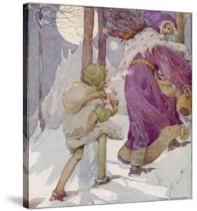 Good King Wenceslas by Anne Anderson