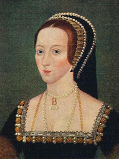 'Anne Boleyn', 1935-Unknown-Giclee Print