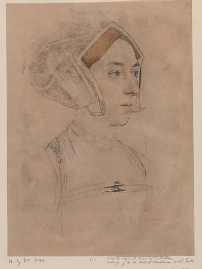 Anne Boleyn-Hans Holbein-Giclee Print