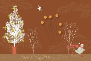 Happy Holiday Fond Terre by Anne Cote