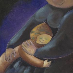 Mom's Hug by Anne Cote