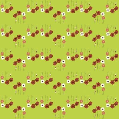 Pattern Coquelicot Lime