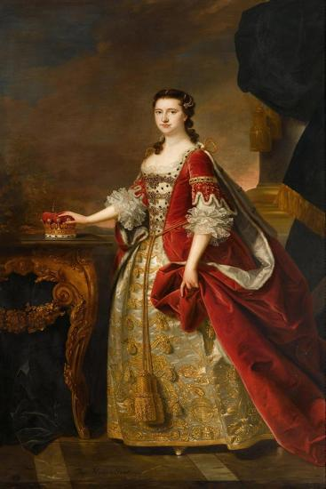 Anne, Countess of Dumfries, 1763-Thomas Hudson-Giclee Print