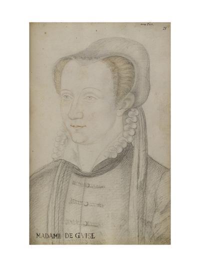 Anne D'Este-Jean Clouet-Giclee Print