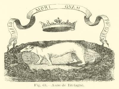 Anne De Bretagne--Giclee Print