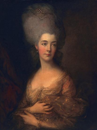Anne, Duchess of Cumberland, C.1777-Thomas Gainsborough-Giclee Print