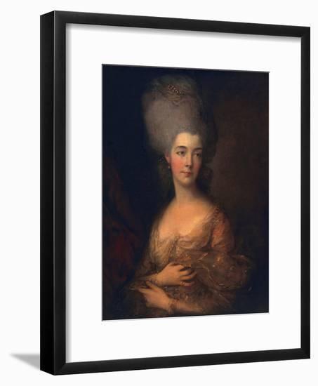 Anne, Duchess of Cumberland, C.1777-Thomas Gainsborough-Framed Giclee Print