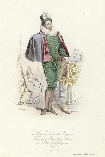 Anne, Duke of Joyeuse, Favourite of Henry III of France--Giclee Print