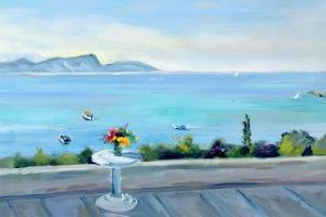 A Terrace Looking Out to Sea by Anne Durham