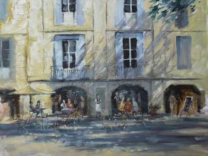 Cafe Scene by Anne Farrall Doyle