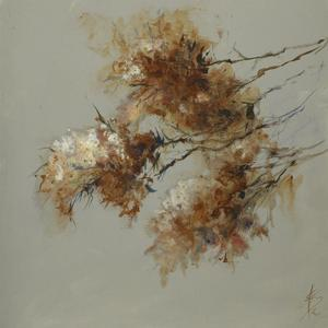 Rusty Spring Blossoms II by Anne Farrall Doyle