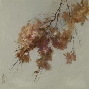 Rusty Spring Blossoms IV by Anne Farrall Doyle