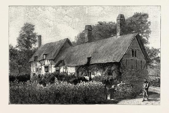 Anne Hathaway's Cottage at Shottery--Giclee Print