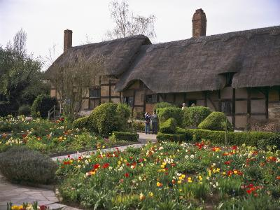 Anne Hathaway's Cottage, Birthplace and Childhood Home of Shakespeare's Future Wife, England--Photographic Print