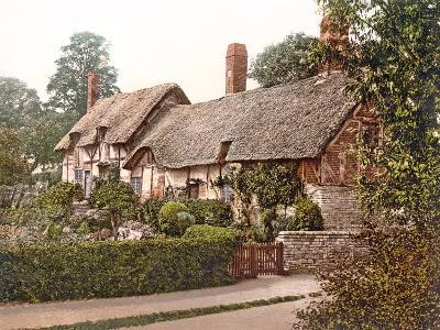 Anne Hathaway's Cottage in Stratford-Upon-Avon, 1890-1900--Photographic Print