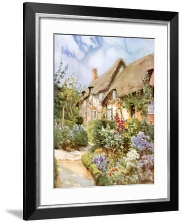 Anne Hathaway's Cottage, Shottery, Warwickshire, 1924-1926-George F Nicholls-Framed Giclee Print