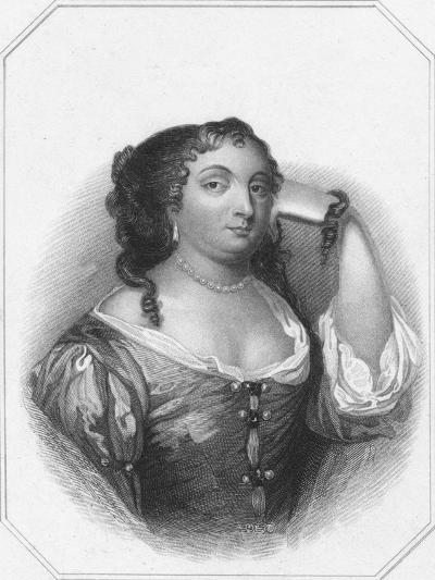 Anne Hyde, Duchess of York, c1830-Thomas Phillibrown-Giclee Print