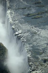 Aerial View of Victoria Falls, Zambia by Anne Keiser