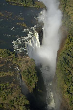 Aerial View over Victoria Falls, Zambia